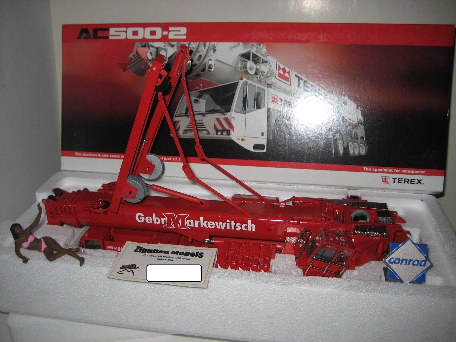 TEREX AC 500-2 AUTOKRAN GEBR. MARKEWITSCH CONRAD 1 50 OVP