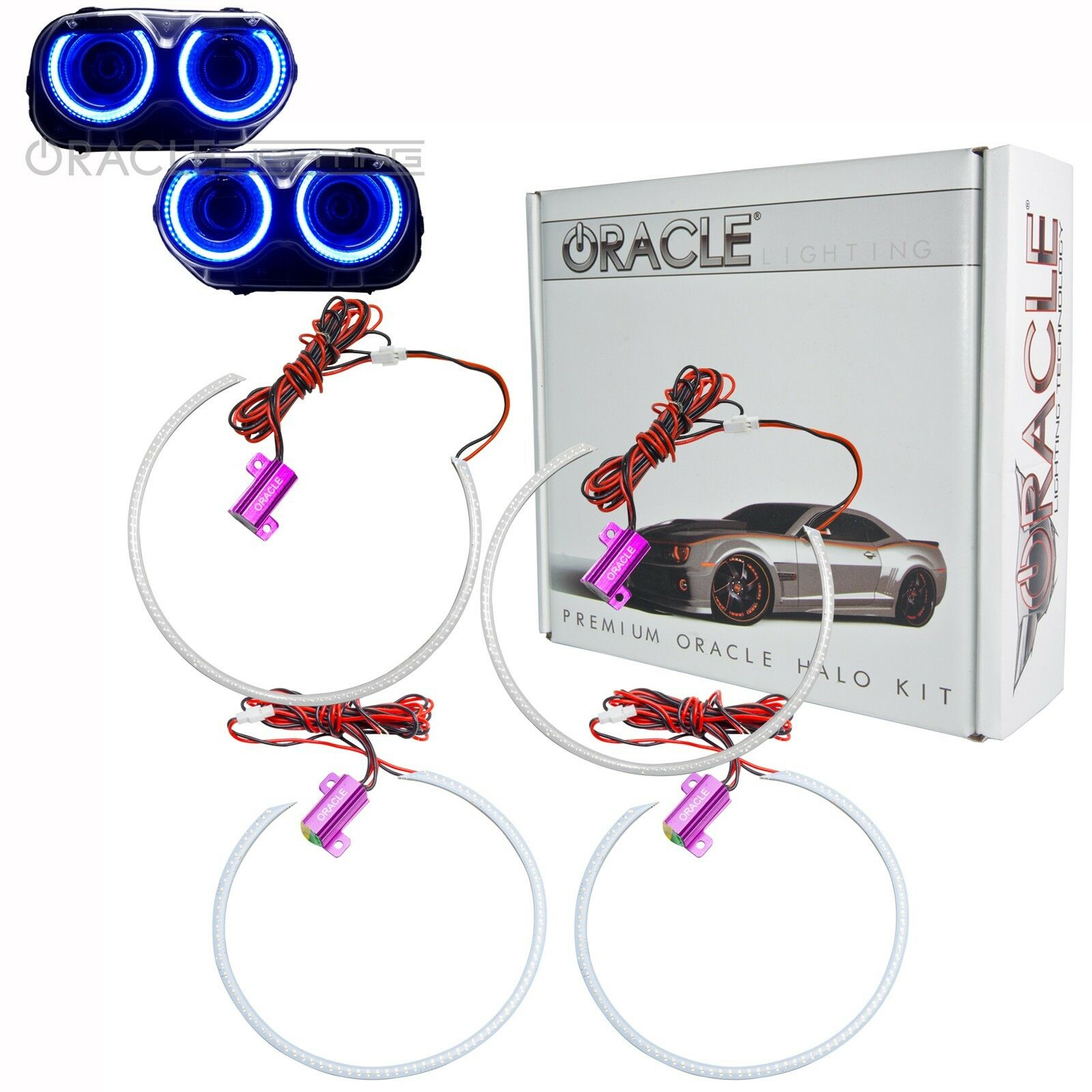 Acura Dealer In Brooklyn: ORACLE Halos For Headlights For 15-19 Dodge Challenger