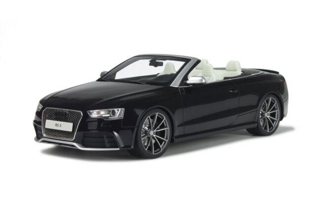 Audi RS5 Cabrio noir 1 of 1500 1 18 Resin GT-Spirit  neu & OVP GT093