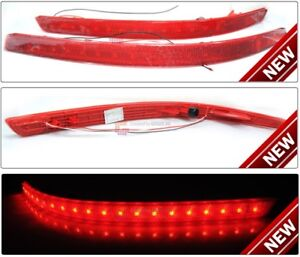 LED-Rear-Bumper-Reflector-Light-Lamp-Set-Fit-kia-2011-2013-Optima-K5