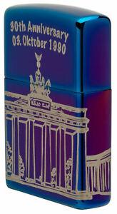 Zippo 3.Oktober 1990-2020 Puerta de Brandenburgo Xxx / 300 Limited 60005137 30th