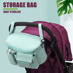 Baby-Stroller-Bag-Storage-Pram-Pushchair-Organiser-Mummy-Cup-Bottle-Nets-Kid