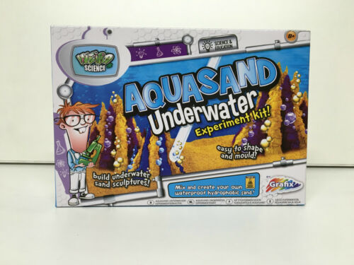 BRAND NEW MAKE YOUR OWN ROCKET LAUNCHER AND AQUA SAND UNDERWATER EXPERIMENT KIT