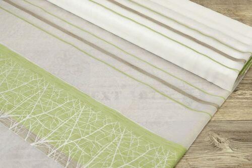 Lysel Stoffe Structure Stripes grün