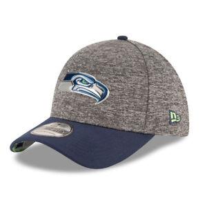 Seattle Seahawks New Era Stretch-fit NFL Draft Cap - Size Small ... 084c7b9de