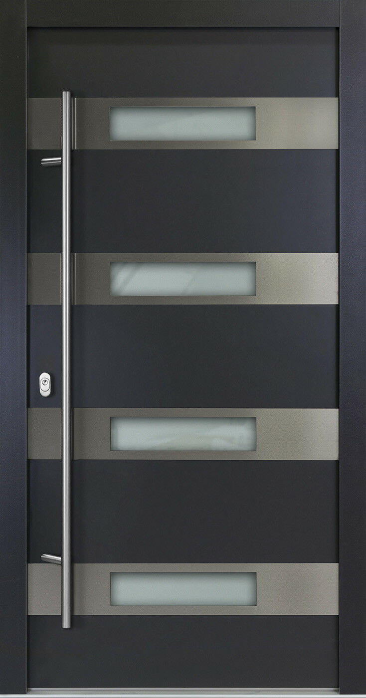 Model AS06 Haustüren Haustür ALU-Haustür Haustüre Aluminium Seitenteil