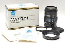 Minolta 28-85mm Maxxum AF 3.5-4.5 for DSLR Sony Alpha Full Frame 35mm MINT