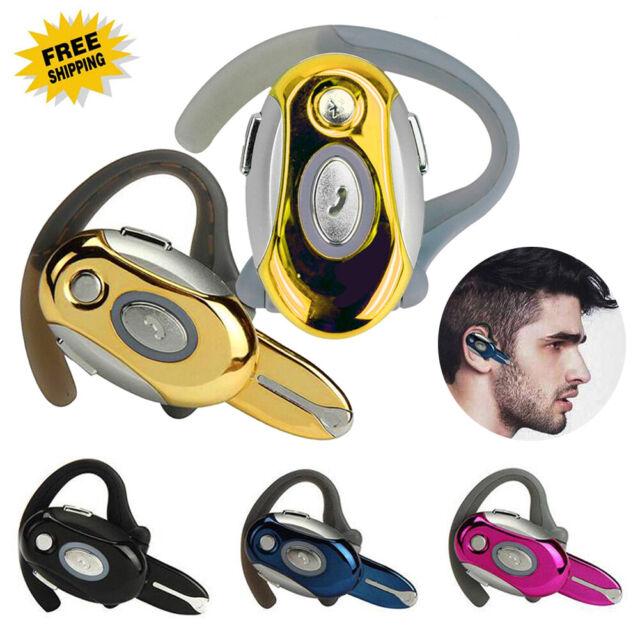 Wireless Bluetooth Headphone Business Headset Stereo Earphone Handsfree Earpiece