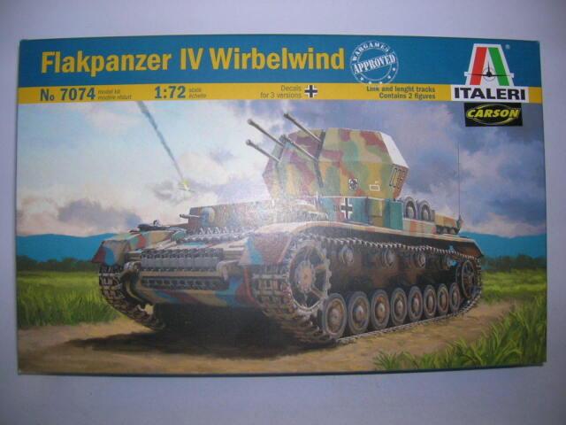 "Italeri Flakpanzer IV /""Wirbelwind/"" in 1:72 510007074 Italeri 7074"