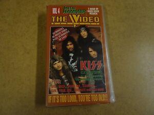 VHS-VIDEO-CASSETTE-METAL-HAMMER-THE-VIDEO-MAGAZINE-VOL-4-KISS