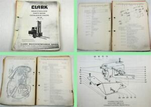 Clark-TW20-Gabelstapler-Fork-Lift-Truck-Parts-List-Ersatzteilliste-Catalogue-65