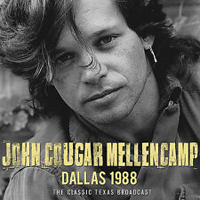 JOHN COUGAR MELLENCAMP New 2017 UNRELEASED LIVE 1988 LONESOME JUBILEE TOUR CD