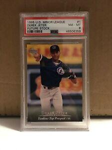 Derek-Jeter-1995-UD-Minor-League-Future-Stock-RC-1-PSA-8-NM-MT-New-York-Yankees