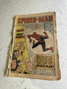 STAN LEE DITKO MARVEL AMAZING SPIDER-MAN SPIDERMAN VINTAGE 1 Coverless Copy Nr