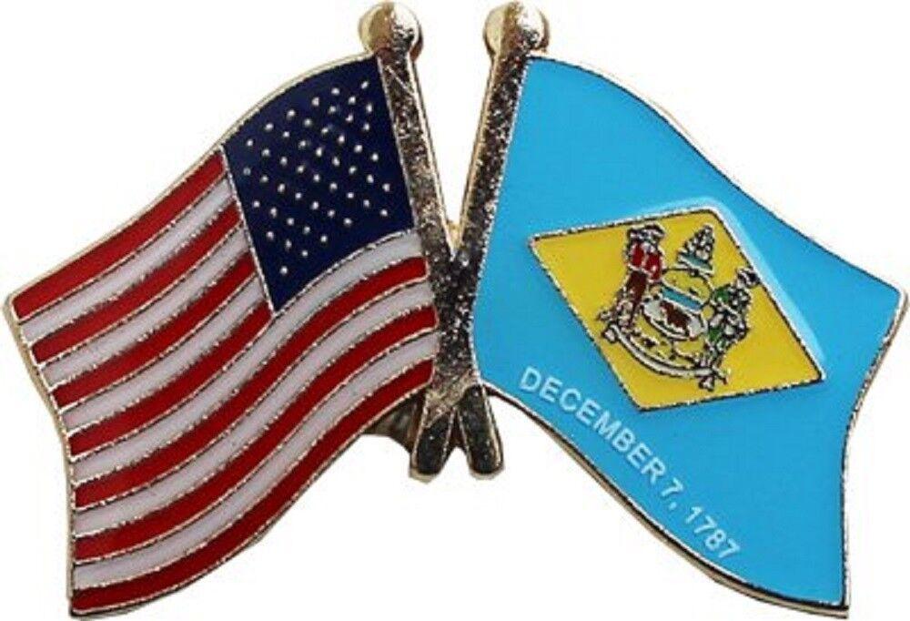 Großhandel 50 Stück Packung USA & Delaware Freundschaft Flagge Fahrrad Hut Kappe