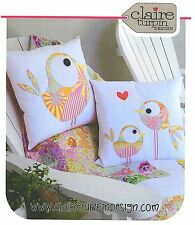 PIP AND ELLIE- Applique Sewing Craft PATTERN - Cushion Shabby Chic