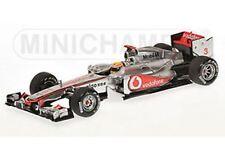MINICHAMPS 114313 McLAREN MP4-26 model car Lewis Hamilton Chinese GP 2011 1:43rd