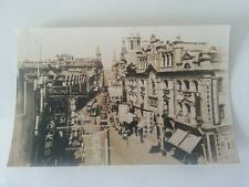 Nanking Road Shanghai China 1930's Antique Real Photo Postcard RPPC Photograph