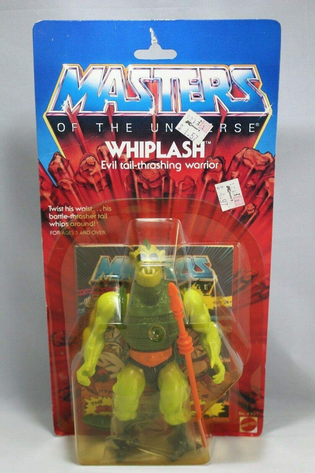 MOTU Whiplash Sealed on Card