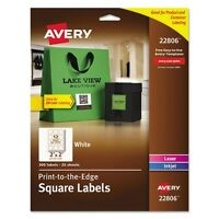 Avery Multipurpose Square Labels - 22806