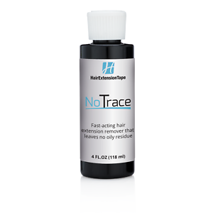 No-Trace-Extension-Remover-4-oz-Drip-Top-Tape-Release-Hair-No-Oily-Residue
