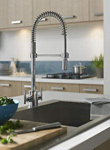 Bristan AR SNKPRO C Artisan Professional Sink Mixer with Pull-Out Spray