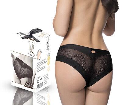 Damen nahtlose Slips Pantys Julimex KISS Milk unsichtbare Microfaser Spitze
