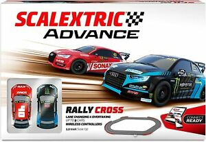 Circuito Scalextric Advance Rally Cross. Escala 1/32. 4,7m de pista. Wireless