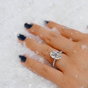 Popular Brand 1ct Round Cut Diamond Solitaire Accent Engagement Ring 14k White Gold Finish Diamond