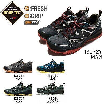 Merrell Capra Bolt Gore Tex Womens Trail Running Sneakers//Shoes