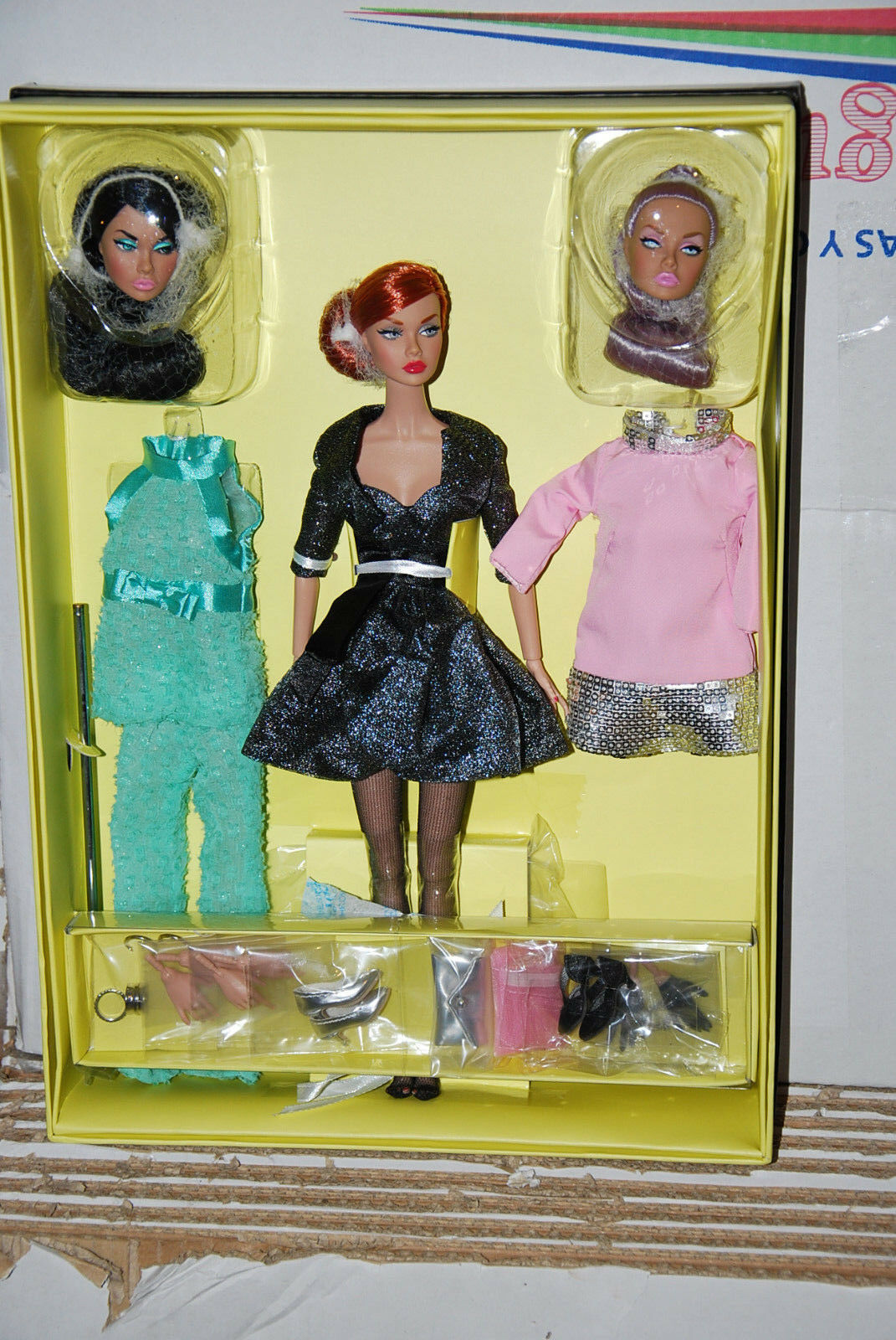 FASHION ROYALTY MOOD CHANGERS POPPY PARKER DRESSED DOLL, PP079, 2015, NRFB