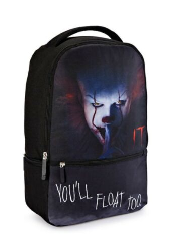 BACK TO SCHOOL Brand New PENNYWISE IT You'll Float Too Regular Size Backpack