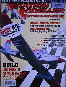 Luftfahrt-Modeller-International-August-2000-Komplett-Mit-Unbenutz-Plan