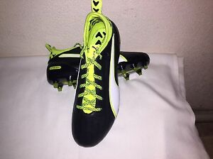 3ad2ecb3658e Puma Youth EvoTouch 1 FG Soccer Shoes Spikes GYM 10374901 size 5 c ...