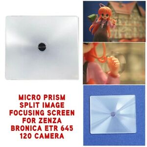 New-Micro-Prism-Split-Image-Focusing-Screen-For-Zenza-Bronica-ETR-645-120-Camera