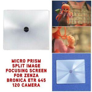 New-Micro-Prism-Split-Image-Focusing-Screen-For-Zenza-Bronica-ETR-645-120-Camera