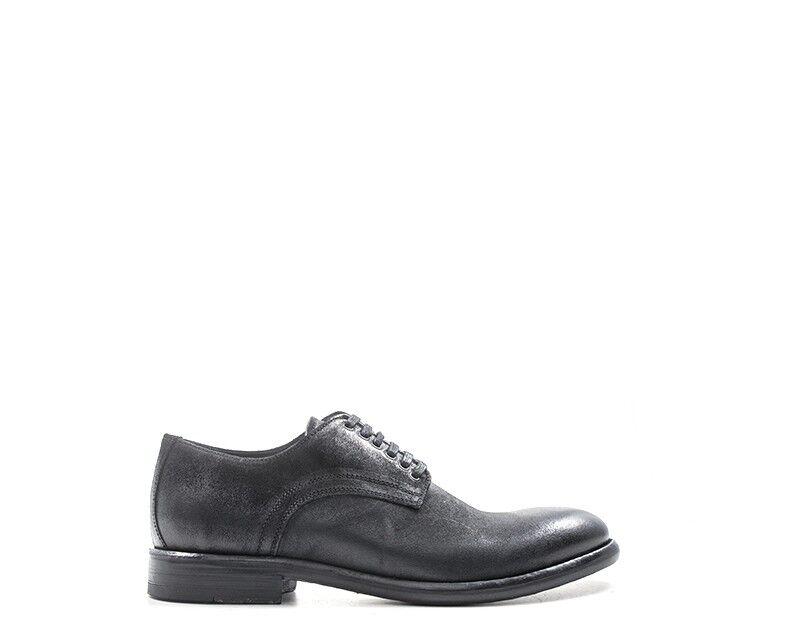 shoes MEZZETINTE men STRINGATE  black Pelle naturale 5529CRO-NE