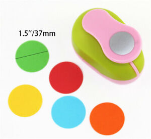1.5inch Circle Round Paper Craft Hole Punch Tool Scrapbook Paper Cutter Kids DIY
