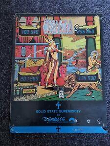 Cleopatra - Gottlieb - ORIGINAL Promotional Advertising Flyer - last one