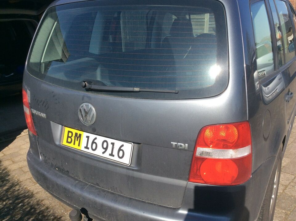 VW, Touran, 1,9 TDi 105 Conceptline Van