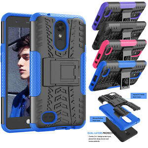 premium selection e1eaa f9e11 Details about For LG K20 Plus / V5 / K20 V/ LG TP260/ MP260 Shockproof  Kickstand Case Cover