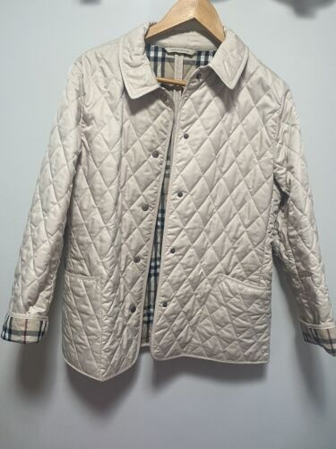 BURBERRY quilted jacket medium