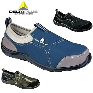 a7f5b4fd780 Details about MENS DELTA PLUS LIGHTWEIGHT STEEL TOE CAP SAFETY WOMENS  TRAINER SHOES WORK BOOTS