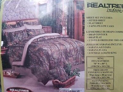 Realtree AP Snow Camo Sheets FREE Expedited Shipping