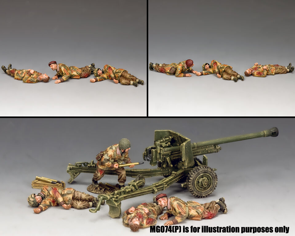 King and Country Dead & Wounded Paras MG075(P)