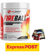 Fireball By Red Dragon Thermogenic Fat Burner Preworkout Weight Loss Oxy