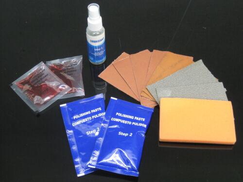 Scheinwerfer Aufbereitung Set auch Rücklichter polieren AGT