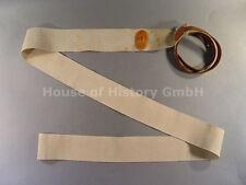 I.Weltkrieg Sanitätsmaterial: Staubinde, Tourniquet, weißer Stoffwebgurt, 91894