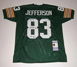 PACKERS-John-Jefferson-signed-jersey-w-1982-Pro-Bowl-JSA-COA-AUTO-Autographed