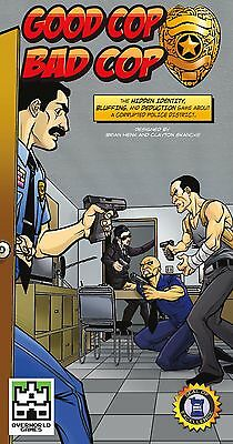 Good Cop Bad Cop Card Game Overworld Games IMP OWG0303 Deduction Bluffing Police